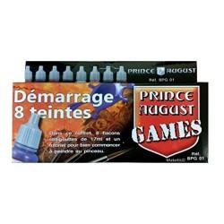 Coffret Démarrage Games 8 teintes