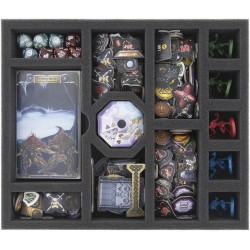 Foam tray value set for Sword & Sorcery boardgame box