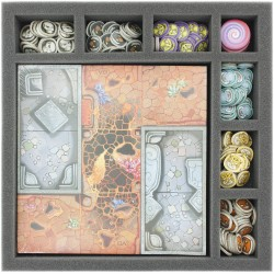 Foam tray value set for Arcadia Quest: Inferno Core Game