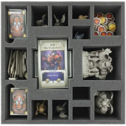 90 mm foam tray with 15 compartments for Arcadia Quset: Inferno