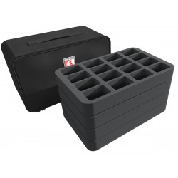 MINI PLUS Case for 64 Blood Bowl miniatures
