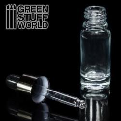 GreenStuffWorld - Pot de Verre vide avec Pinceau