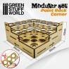 GreenStuffWorld - Présentoir pour Peinture Coin MDF