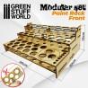 GreenStuffWorld - Présentoir Modulaire pour Peinture - FRONTAL