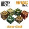 GreenStuffWorld - Caisse en Bois Classique MDF