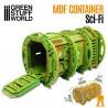 GreenStuffWorld - Conteneur d'Expédition Sci Fi