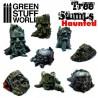 GreenStuffWorld - Souches d'arbres enchantées