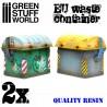 GreenStuffWorld - Contenants de résine - Européens