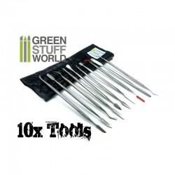 GreenStuffWorld - LIMES aiguille diamant - Grain 150