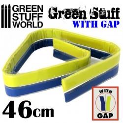 GreenStuffWorld - Résine Verte en bande 30 cm AVEC ESPACE