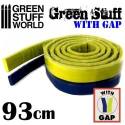 GreenStuffWorld - Résine Verte en bande 46 cm AVEC ESPACE