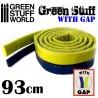 GreenStuffWorld - Résine Verte en bande 93 cm AVEC ESPACE