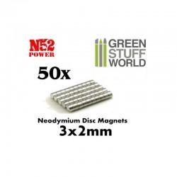 GreenStuffWorld - Aimants N52 (30*0.5) *100