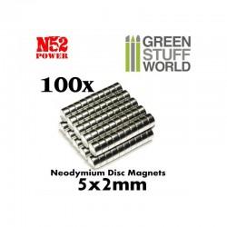 GreenStuffWorld - Aimants N52 (5*2) *50