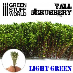 GreenStuffWorld - Grands Arbustes - Vert Foncé