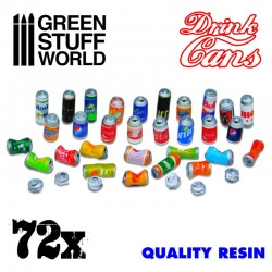 GreenStuffWorld - 24x Jerrycans en Résine
