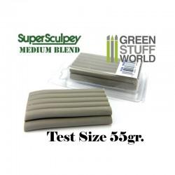 GreenStuffWorld - Super Sculpey Beige 55 gr. - Taille d'essai