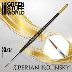 GreenStuffWorld - GOLD SERIES Pinceau Kolinsky Sibérien - 0
