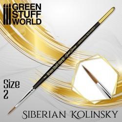 GreenStuffWorld - GOLD SERIES Pinceau Kolinsky Sibérien - 1