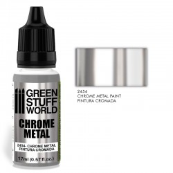 GreenStuffWorld -  Peinture Chromée - Aérographe