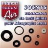 Ensemble des 8 joints pour Aérographe A011