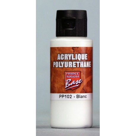 Acrylique Polyuréthane Blanc 60 ml
