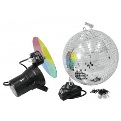 EUROLITE Mirror Ball 30cm : kit