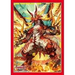 Bushiroad - 70 protèges cartes Mini Vol. 307 Zeroth Dragon of Inferno