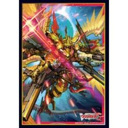 "Bushiroad - 70 protèges cartes Mini Vol. 209 Heavenly Emperor Dragon, Dragonic Blademaster ""Taiten"""